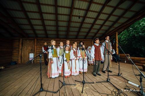 """Tarptautiniame post-folkloro festivalyje ,,Mėnuo juodaragis"""" 2014 m."""
